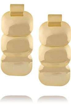 Kenneth Jay Lane Gold-plated earrings | THE OUTNET