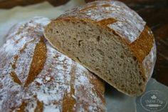 POCTIVÝ CHLIEB - Slovak Recipes, Food, Breads, Bread Rolls, Essen, Bread, Meals, Braided Pigtails, Yemek