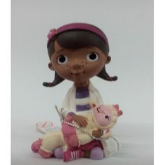 Birthday Cake Topper Dr Mcstuffins with Lammie  Conf12901 by RUSTIKOcakeDecoratio on Etsy