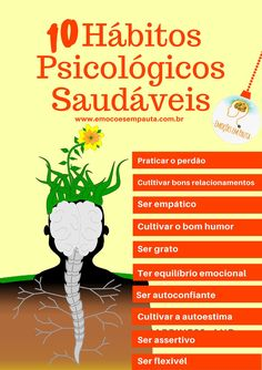 Curta nossa fanpage no facebook! Emoções em Pauta Alta Performance, Where Is My Mind, Good Habits, Emotional Intelligence, Healthy Mind, Good Vibes, Better Life, Self Help, Personal Development