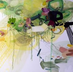 """Saatchi Online Artist: Dana Oldfather; Oil, 2011, Painting """"Shallows 2"""""""