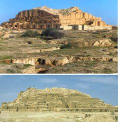 Ziggurats werearchitectural structures that served as religious temples…