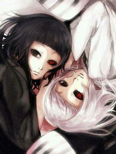 Kuro & Shiro twin sisters