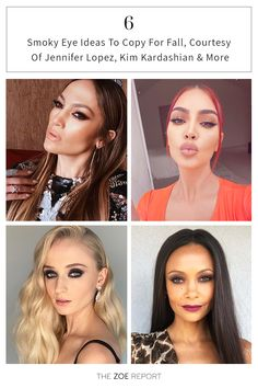 Beauty, makeup, smokey eye, celebrity