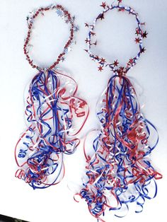 July Parade Fairy Crowns – Easy Dress up for July Planning for just a fourth of July party? 4th Of July Parade, 4th Of July Celebration, Fourth Of July, Patriotic Crafts, Patriotic Party, 4th July Crafts, Patriotic Costumes, 4. Juli Party, Bike Parade