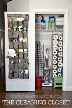 DIY Cleaning Closet!