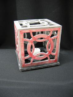 Ceramic Lantern - Froehlich Arts - P. Ceramic Pottery, Ceramic Art, Ceramic Lantern, Ceramics Projects, Project Ideas, Perspective, Lanterns, Lamps, Decorative Boxes