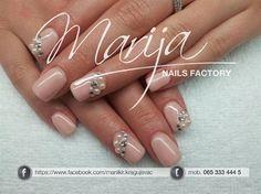 Beautiful pearls by marija7 - Nail Art Gallery nailartgallery.nailsmag.com by Nails Magazine www.nailsmag.com #nailart