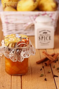 Spicy Pear & Orange Jam