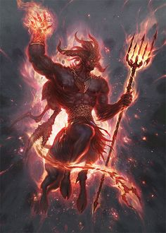 "quarkmaster:  ""  Prime Demon  Prime Demon art. Done for Kickstarter Gloomhaven boardgame, please see our project..."
