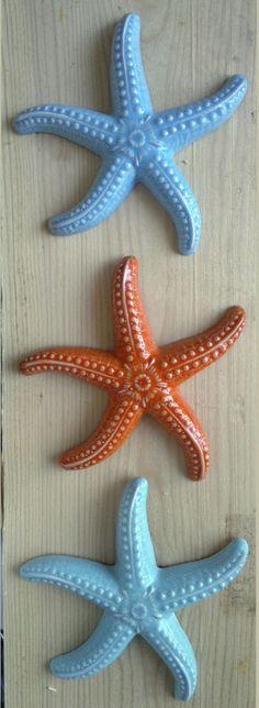 stelle marine in ceramica