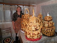 Korovai - Ukrainian Wedding Bread