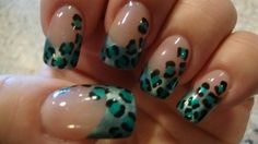 Cheetah nails. *I'm in love! TOTALLY getting this next time!
