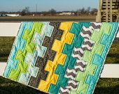 Stacks Baby Quilt