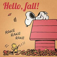 #Snoopy #autumn