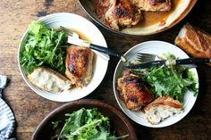 One-Pan Roasted Chicken with Sherry Vinegar Sauce recipe on Food52