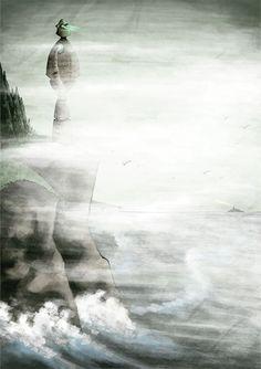 The Iron Man - Amberin Huq - Illustration Blog