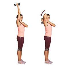 Voimaa käsivarsiin! Näin teet kuuden liikkeen jumpan käsille   ET Health Fitness, Activities, Workout, Sports, Beauty, Hs Sports, Work Out, Sport, Beauty Illustration