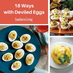 18 Ways with Deviled Eggs | Deviled eggs are a staple for any Southern party. Update this classic with these new flavor ideas.