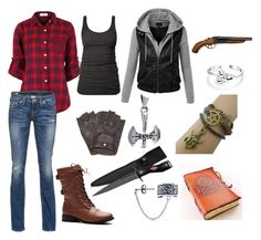 """""""Hunter of her own kind"""" by avagrods on Polyvore"""