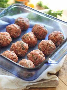 These Greek meatballs are made with lamb and filled with mint and dried apricots.