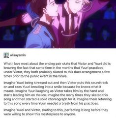 The writers, creators and animators of this show deserve all the awards for making this show. The OTP is actually made canon in a sports anime regardless of gender-thank you. IM SO GOD DAMN HAPPY! ユーリ!!! On Ice, Ice Ice Baby, Yuri On Ice Comic, Victor Nikiforov, Katsudon, Yuri Katsuki, Anime Ships, Fujoshi, Manga Anime