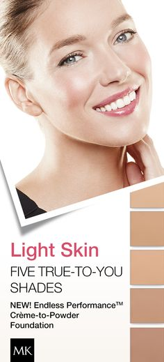 Ask your Independent Beauty Consultant which foundation shade is perfect for you! #FlawlessFace