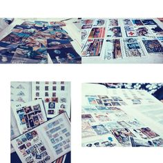 Wellthough we all have numerous hobbies today It's kind of hard to keep up with some healthy ones. Other than our craze to travel the Baruas are pretty good at preserving these memories in the form of stamps and currencies. I'm glad I did too . Looking at these I feel I probably belong to the 80s or 90s haha! Something started by my ancestors. Dad had good fun collecting 3D stamps too and Priyam and Panchal carried on with the last collections being used for real. It all ended up with me…