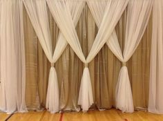 Weddbook is a content discovery engine mostly specialized on wedding concept. You can collect images, videos or articles you discovered  organize them, add your own ideas to your collections and share with other people - Wedding Backdrops, not just for weddings, love the look for bedroom. #backdrop