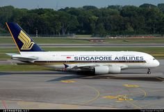 Photo of 9V-SKM - Airbus A380-841 - Singapore Airlines