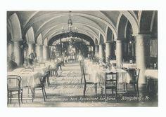 Königsberg, Restaurant zur Börse, Inneneinrichtung