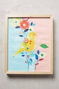 Starla Michelle Halfmann Canary Wall Art