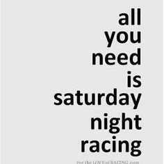 Amen! Love me some night racing!