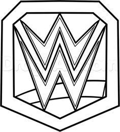 42 Awesome Wwe Coloring Pages Images Wwe Coloring Pages