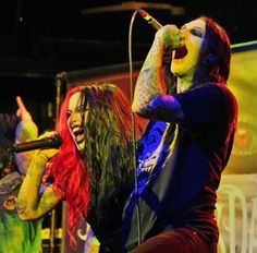 Ash costello Chris motionless// can they just date already