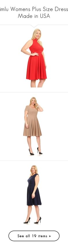 """""""Simlu Womens Plus Size Dress - Made in USA"""" by simlu-clothing on Polyvore featuring phrase, quotes, saying, text, words, article, letters and magazine"""