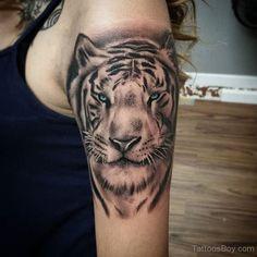 Brilliant inner arm tiger tattoos for girls