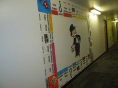 Floor decs theme: board games                 Monopoly Missouri State version