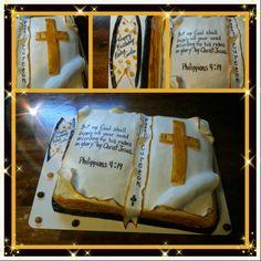 Bible cake ideas