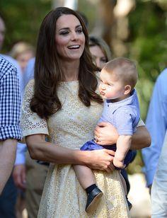 Sinirleniyor, surat asıyor veya somurtuyor. Prens George'u mutlu etmek bir hayli zor!