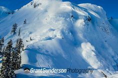 #6 of 8. Ski patrol used a heli to do some massive avi control at Mt. Baker. Photo by Grant Gunderson