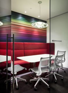 Office Design, Office Interiors, Inspiration Board :: Workplace Resource of Oregon, via Interior Work, Office Interior Design, Room Interior, Exterior Design, Conference Room Design, Conference Room Chairs, Open Space Office, Office Fit Out, Office Spaces