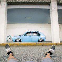 VW Mk1 Golf - SLAMMED!