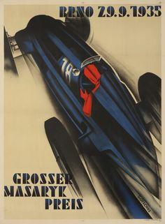 Grosser Masaryk Preis BRNO 1935. Walter Gotschke.