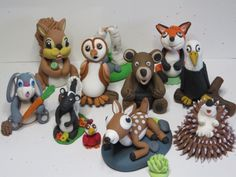 Sues Sugar creations gum paste toppers