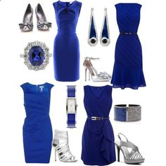 LBD: Little Blue Dress!