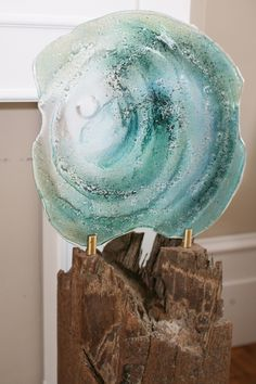 Fused Glass Sculptures   ... and fused glass sculpture Above: examples of fused glass sculptures