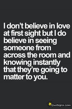 love at first sight quotes - Google Search