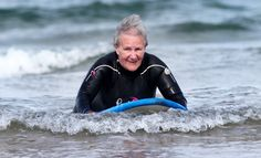 Extreme Old People - Surfing Woman