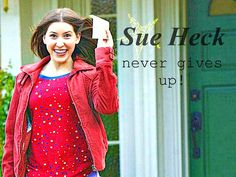 (previous pinner) sue heck is my hero! The middle The Middle Tv Show, The Middle Sue, Michael Jackson, Eden Sher, The Goldbergs, Tv Show Quotes, Me Tv, Celebs, Celebrities